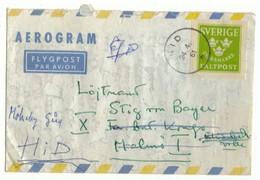 Aerogram. Fältpost.  Svarsmärke. Sverige 1961. Militaire. Lettre De Réponse.  Suède. - Militaires
