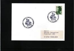 France 1987 Minerals Interesting Postmark - Mineralien