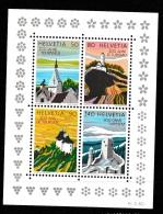 Switserland, Helvetia 1987 Block 25 Postfrisch/MNH/** LUXE - Blocchi & Foglietti