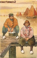 MELCHERS W. HAANS UTRECHT ILLUSTRATOR ILLUSTRATEUR NEDERLAND PAYS-BAS HOLLAND VOLENDAM 1900 - Non Classés