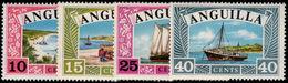 Anguilla 1968 Anguillan Ships Unmounted Mint. - Anguilla (1968-...)