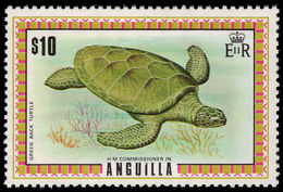 Anguilla 1972 Green Turtle Unmounted Mint. - Anguilla (1968-...)