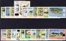 Anguilla 1980 Seperation Set Unmounted Mint. - Anguilla (1968-...)