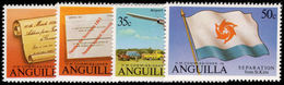 Anguilla 1980 Seperation From St Kitts Unmounted Mint. - Anguilla (1968-...)