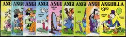 Anguilla 1981 Easter. Walt Disney Characters Unmounted Mint. - Anguilla (1968-...)
