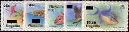 Anguilla 1984 Provisionals Unmounted Mint. - Anguilla (1968-...)