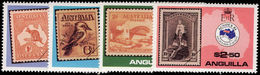Anguilla 1984 Ausipex Unmounted Mint. - Anguilla (1968-...)