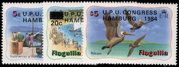 Anguilla 1984 UPU Hamberg Unmounted Mint. - Anguilla (1968-...)