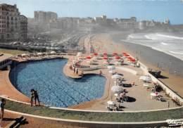 BIARRITZ La Piscine Du Palais Vue D Ensemble Sur La Grande Plage 8(scan Recto-verso) MA1059 - Biarritz