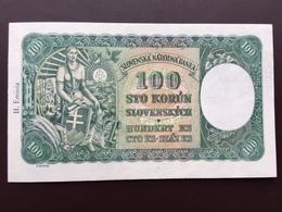SLOVAQUIA P10 100 KORUM 1940 UNC - Slovaquie