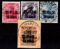 Romania-00145 - Occupazione Tedesca 1917 (o) Used - Senza Difetti Occulti. - Besetzungen