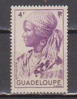 GUADELOUPE      N°  YVERT  :   206   NEUF AVEC  CHARNIERES      (  CH 39  ) - Guadeloupe (1884-1947)