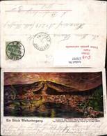 579797,Litho Vulkan Mont Pele St Pierre 1902 Ausbruch Katastrophe - Katastrophen