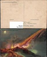 579798,Künstler Ak Vesuvio Eruzione 1906 Ausbruch Vesuv Vulkan Neapel Katastrophe - Katastrophen