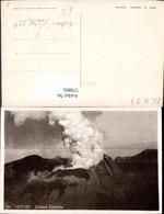 579805,Foto Ak Napoli Neapel Vesuvio Vesuv Vulkan Cratere Centrale Krater Katastrophe - Katastrophen