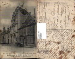 579808,Bombardement De Reims Zerstörte Häuser WW1 Katastrophe - Katastrophen