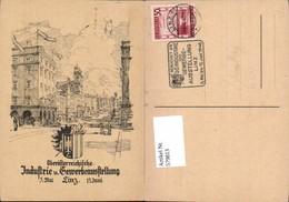 579813,Ausstellung Oberösterreichische Industrie Gewerbeausstellung Linz 1946 - Ausstellungen