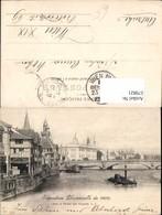 579821,Ausstellung Exposition Universelle De 1900 Vers Le Palais Des Congres Schiff D - Ausstellungen