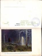 579844,Künstler Ak Hermann Hendrich Walpurgishalle Gretchenerscheinung Sage - Märchen, Sagen & Legenden