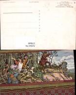 579849,Künstler Ak M. V. Schwind Wartburg Landgrafenzimmer Sage - Märchen, Sagen & Legenden