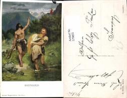 579855,Künstler Ak Ferd. Leeke Richard Wagner Ring Rheingold Sage Pub M. Munk 982 - Märchen, Sagen & Legenden