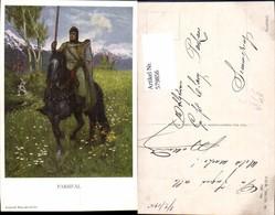 579856,Künstler Ak Ferd. Leeke Richard Wagner Parsifal Ritter Sage Pub M. Munk 984 - Märchen, Sagen & Legenden