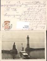 580478,Leuchtturm Lindau I. Bodensee Hafenausfahrt Löwendenkmal Schiff Dampfer - Leuchttürme