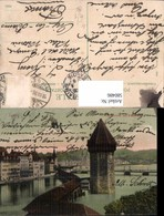 580486,Luzern Kapellbrücke U. Wasserturm - Wassertürme & Windräder (Repeller)