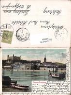580508,Pressburg Pozsony Schiffe 1905 - Slowakei