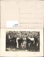 580821,Foto Ak Gruppenbild Junge Frauen U. Männer Schüler - Ansichtskarten