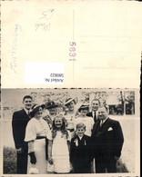580822,Foto Ak Gruppenbild Familie Mode Hut Handschuhe Firmung - Ansichtskarten