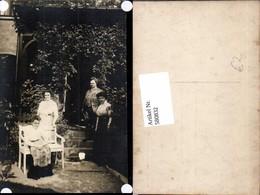 580832,Gruppenbild Familie B. Stiege Haus - Ansichtskarten