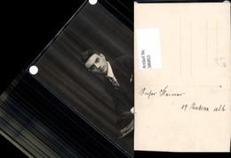 580851,Foto Ak Mann Anzug In Stuhl Sitzend Hut - Männer