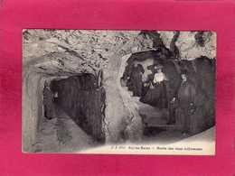 73 Savoie, Aix-les-Bains, Grotte Des Eaux Sulfureuses, Animée, 1913, (Jullien) - Aix Les Bains