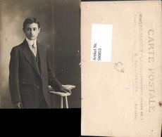 580853,Mann Anzug Stehend - Männer