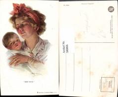 580866,Künstler Ak Philip Boileau Jugendstil Baby Mine Frau Als Mutter Haarband Pub R - Frauen