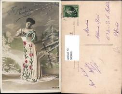 580868,Frau Kleid M. Hufeisen Neujahr - Frauen