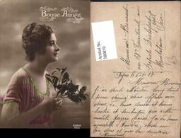 580870,Frau Portrait Bonne Annee Pub Furia 653 - Frauen