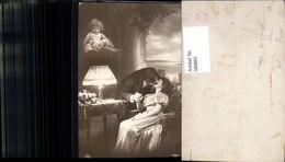 580883,Fotomontage Paar Liebe Kuss Kind Kleinkind Puppe Lampe Tischlampe Interieur - Paare