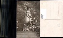 580888,Frau M. Hut I. Arm Blumen - Frauen