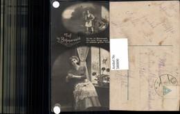 580890,Fotomontage Frau Kind Tief Im Böhmerwald Text - Frauen