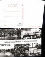 578554,Mehrbild Ak Grünheide Mark Fangschleuse Froschbrücke Werlsee - Deutschland