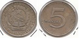 Angola 5 Kwanzas 1977 KM#85 - Used. - Angola