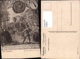 579859,Künstler Ak H. Hess Tells Apfelschuss Sage - Märchen, Sagen & Legenden