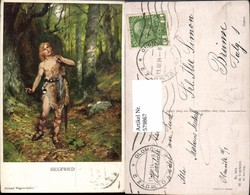 579867,Künstler Ak Ferd. Leeke Richard Wagner Siegfried Sage Pub M. Munk 861 - Märchen, Sagen & Legenden
