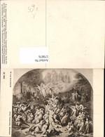 579876,Künstler Ak W. V. Kaulbach Zerstörung Jerusalems Engel Fabelwesen Pub F. A. Ac - Märchen, Sagen & Legenden