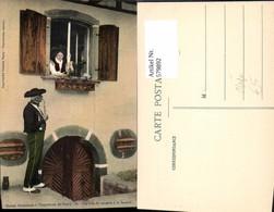 579892,Rauchen Maison Alsacinne A L Exposition De Nancy France Mann Tracht Pfeife - Ansichtskarten