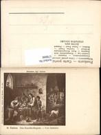579898,Künstler Ak D. Teniers Das Rauchkollegium Les Fumeurs Pfeife Rauchen Hund - Ansichtskarten