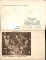 579912,Künstler Ak La Nain Bauernmahlzeit Essen - Küchenrezepte