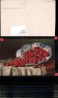 579913,Künstler Ak Erbeeren Früchte Schale Stillleben Essen - Küchenrezepte